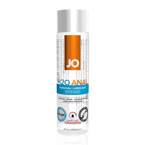 Image of JO H2O Anaal verwarmende glijmiddel