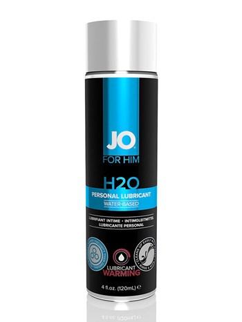 H2O verwarmend glijmiddel voor hem