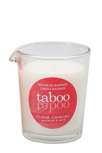 Taboo Plaisir Charnel massagekaars voor haar