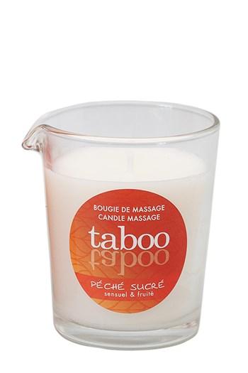 Taboo Peche Sucre massagekaars voor haar