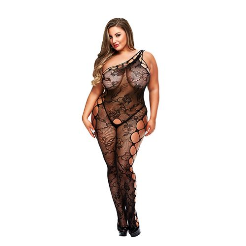 Baci Off The Shoulder bodystocking