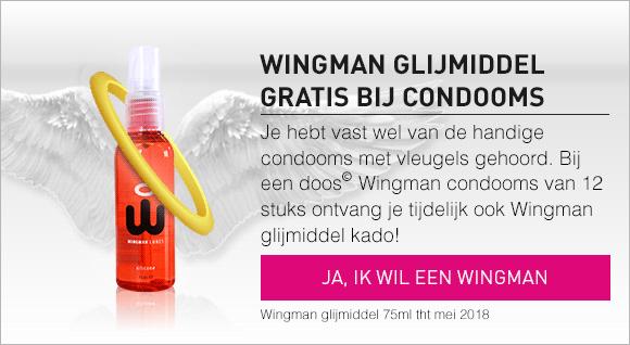Gratis wingman bij Wingman condooms 12 stuks