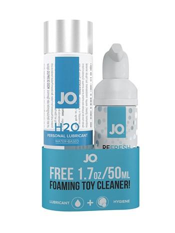 JO H2O 120ml glijmiddel en toycleaner