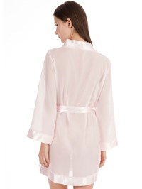 Bluebella roze Chiffon Kimono