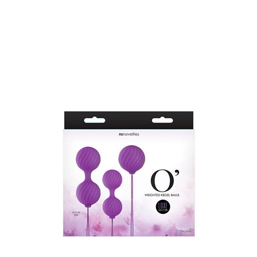 Luxe O kegel ball set