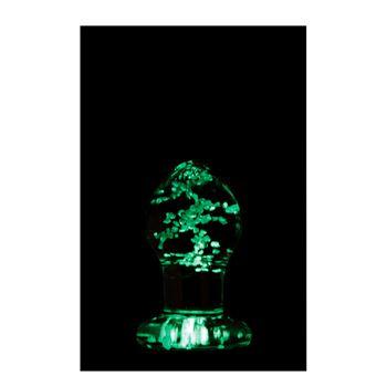 Firefly Small glazen anaalplug -