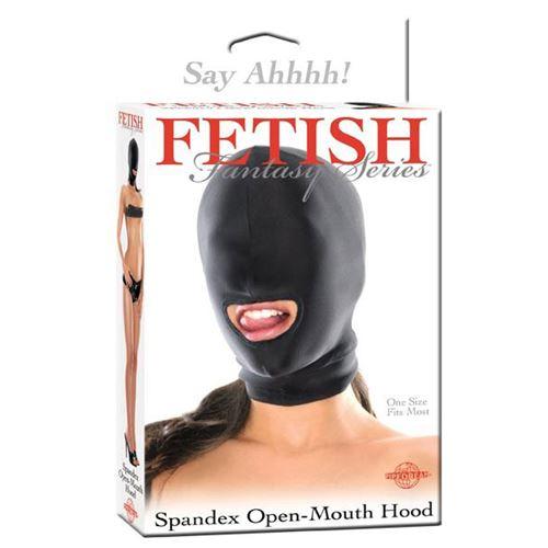 Spandex open mond masker