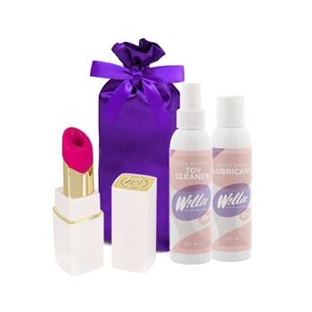 Womanizer 2GO (Wit) voordeelpakket