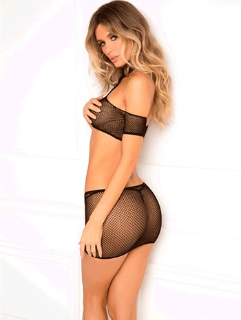 René Rofé 2-delige bodystocking set