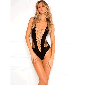 René Rofé cut-out bodysuit