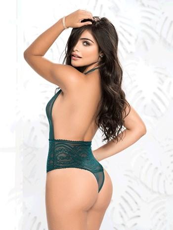 Mapale halter bodysuit (groen)