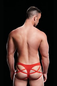 Envy Low-Rise Cage jockstrap (Rood)