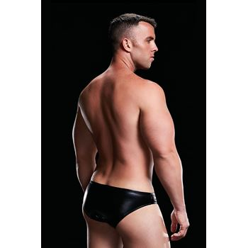 Envy Low-Rise Brief Wetlook jockstrap