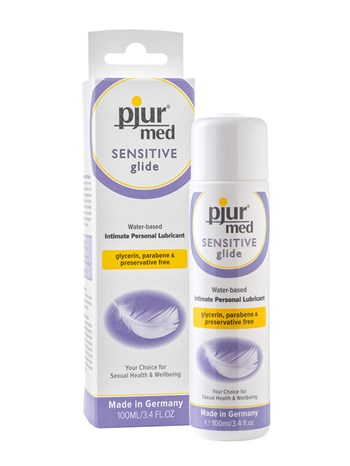 Pjur MED Sensitive glijmiddel op waterbasis 100ml