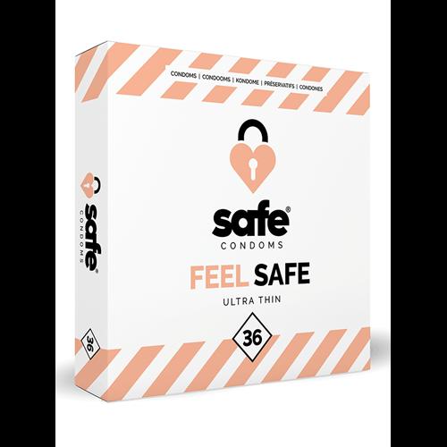Feel Safe Ultra Dun Condooms 36st