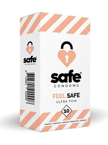 Feel Safe Ultra Dun Condooms 10st