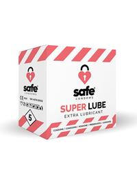 Safe Superlube Condooms (5 stuks)