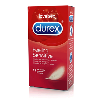 Durex Feeling  Sensitive condooms 12st
