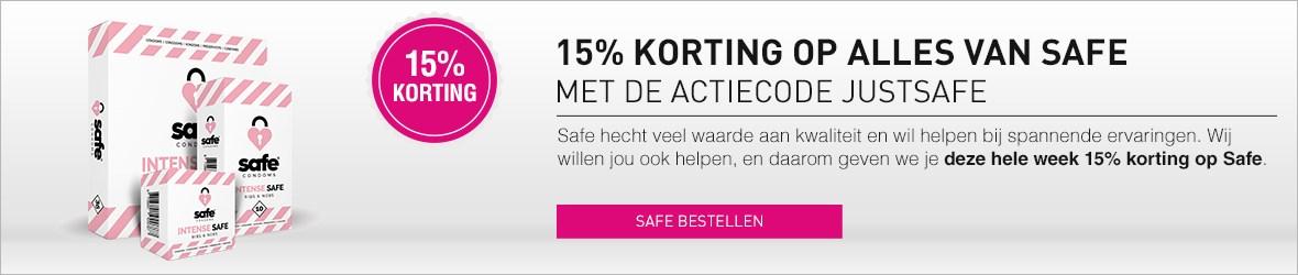 15% korting op Safe