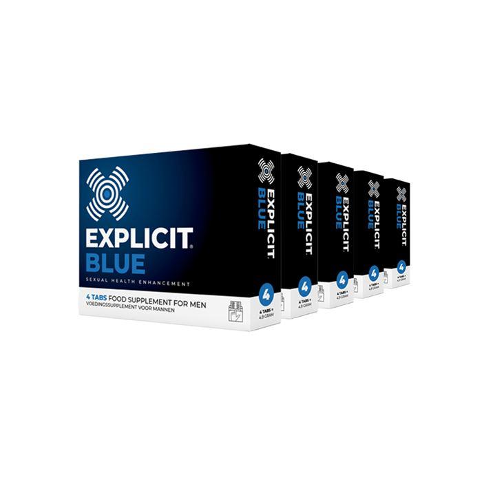 Explicit Blue erectiepil 20 stuks
