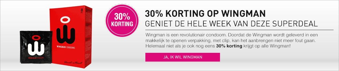 30% korting op Wingman