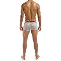 Male Power Witte boxer met gaas