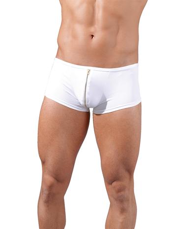 Svenjoyment Witte boxer met rits