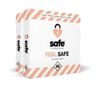 Feel Safe Ultra Dun Condooms 72st