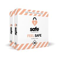 Feel Safe Ultra Dun Condooms 72st