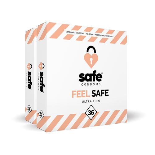 Feel Safe Ultra Dun Condooms - 72 stuks