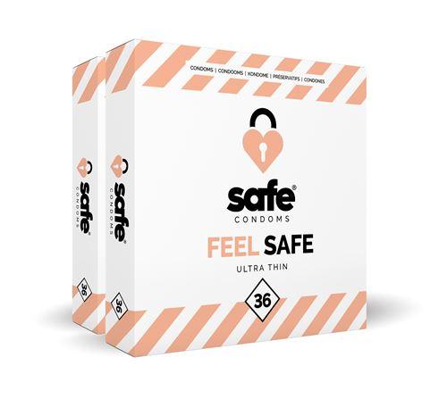 Condoomfabriek Feel Safe Ultra Dun Condooms 72st