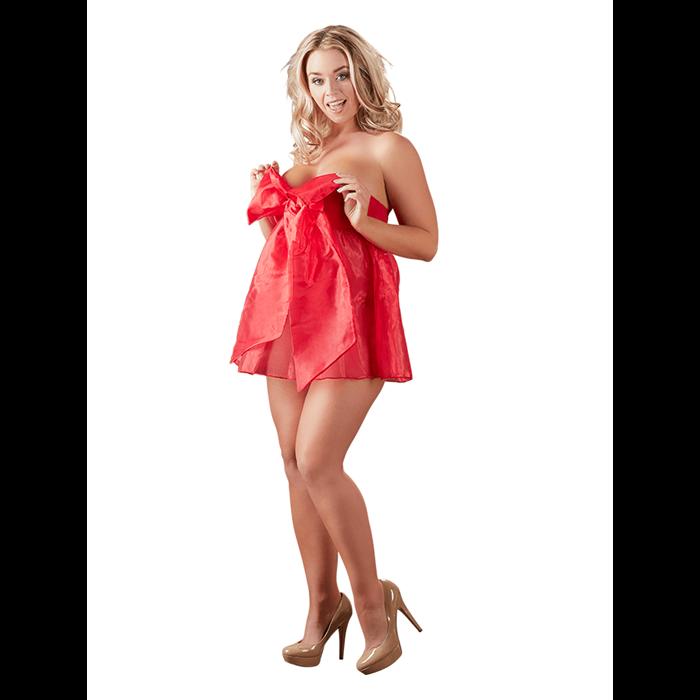Cotelli Lingerie Rode strik rok/babydoll