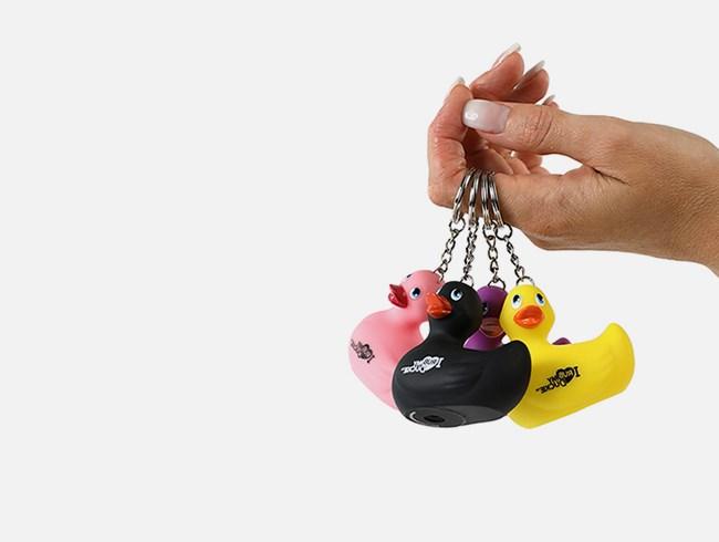 I Rub My Duckie Sleutelhanger Gratis