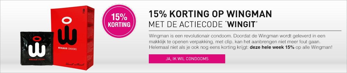 15% korting op Wingman