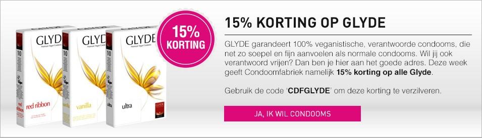 15% korting op Glyde