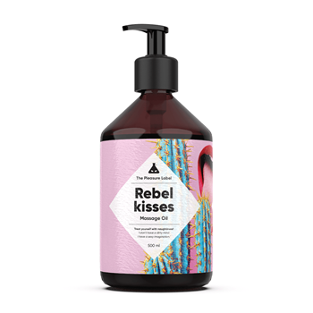 Rebel Kisses massage olie (500ml)