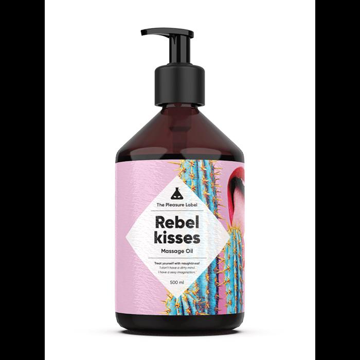 Rebel Kisses massage olie