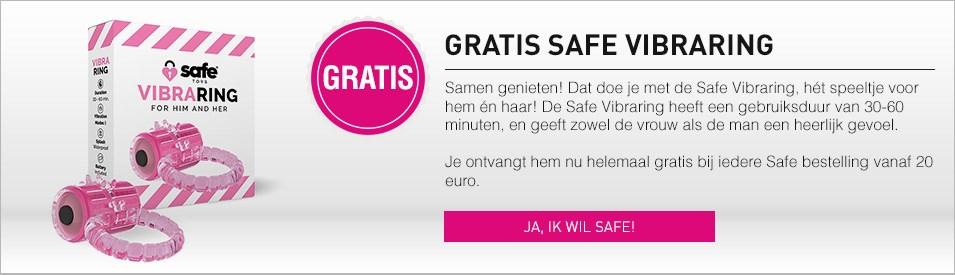 Gratis Safe Vibraring bij 20 euro aan Safe!