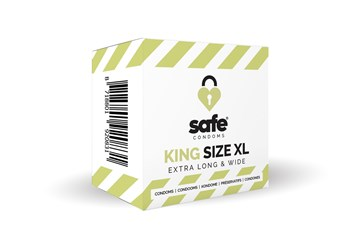 Safe King Size XL Condooms 5st