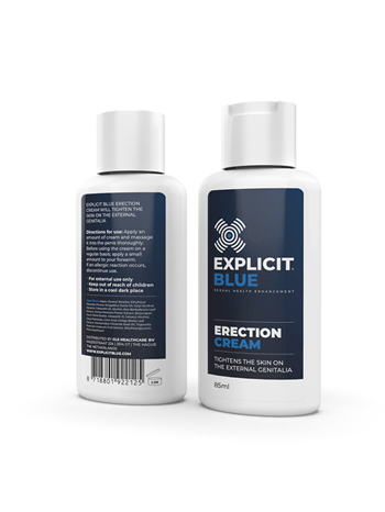 Explicit Blue erection cream