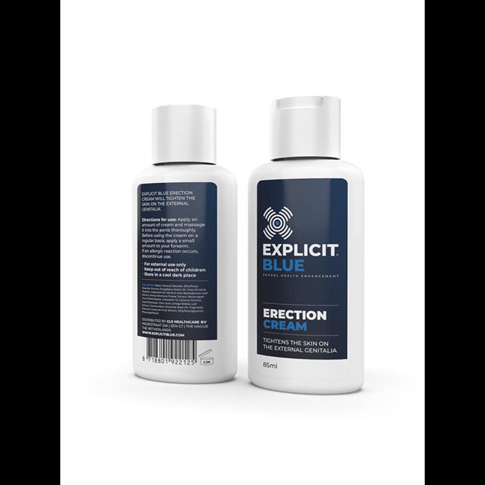 Explicit Blue erection cream