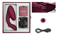 Womanizer Duo luchtdrukstimulator (Rood)