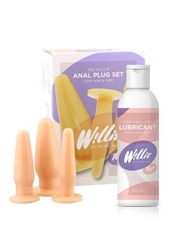 Willie anaalplug pakket