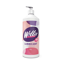 Willie glijmiddel 1liter