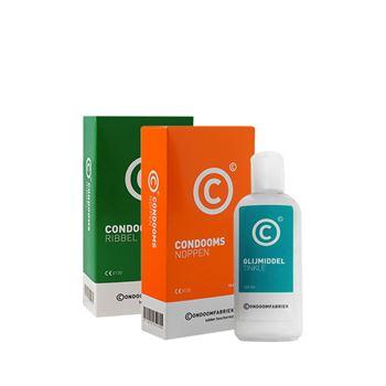 Condoomfabriek Extra Stimulatie pakket