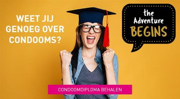 Haal nu jouw condoom diploma