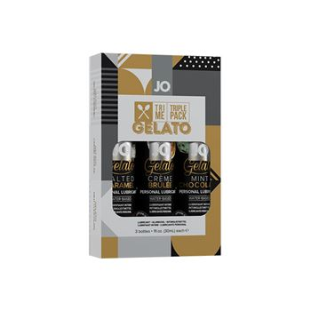 JO - Gelato glijmiddel smaakjes triple pack 3x30ml