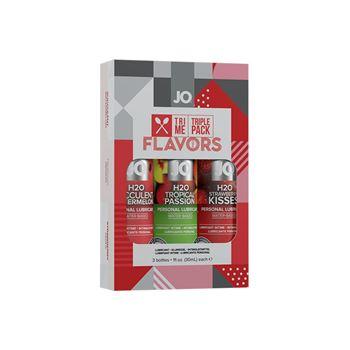 JO - Smaakjes glijmiddel triple pack
