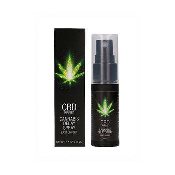 CBD - Cannabis vertragingsspray voor mannen 15ml