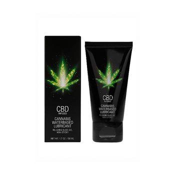 CBD - Cannabis glijmiddel op waterbasis 50ml